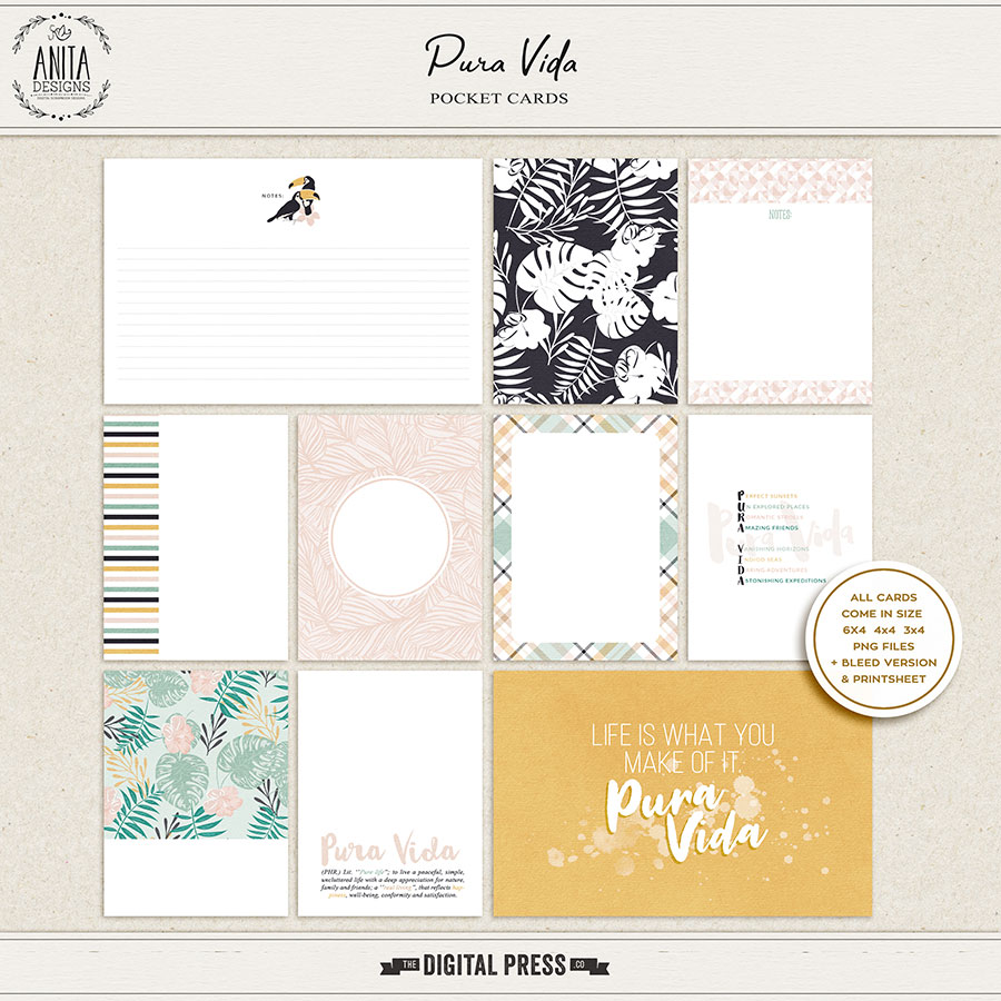 Pura Vida | Pocket Cards