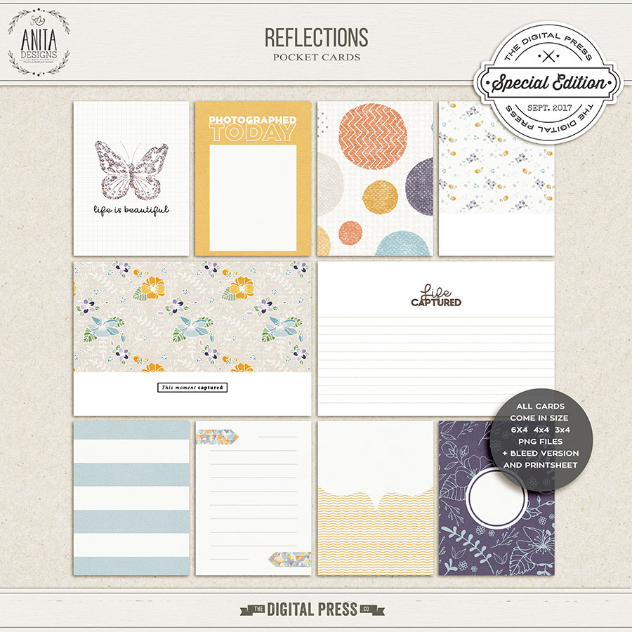 Reflections | Pocket cards