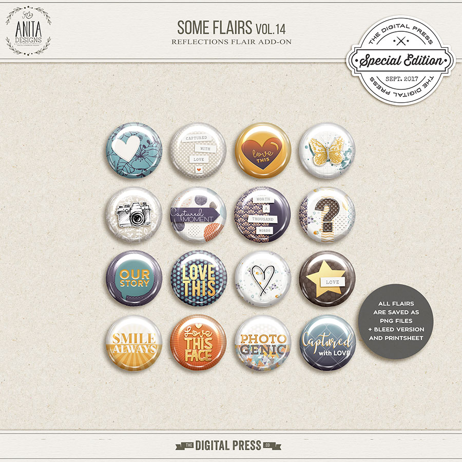 Some flairs vol.14   Reflection add-on
