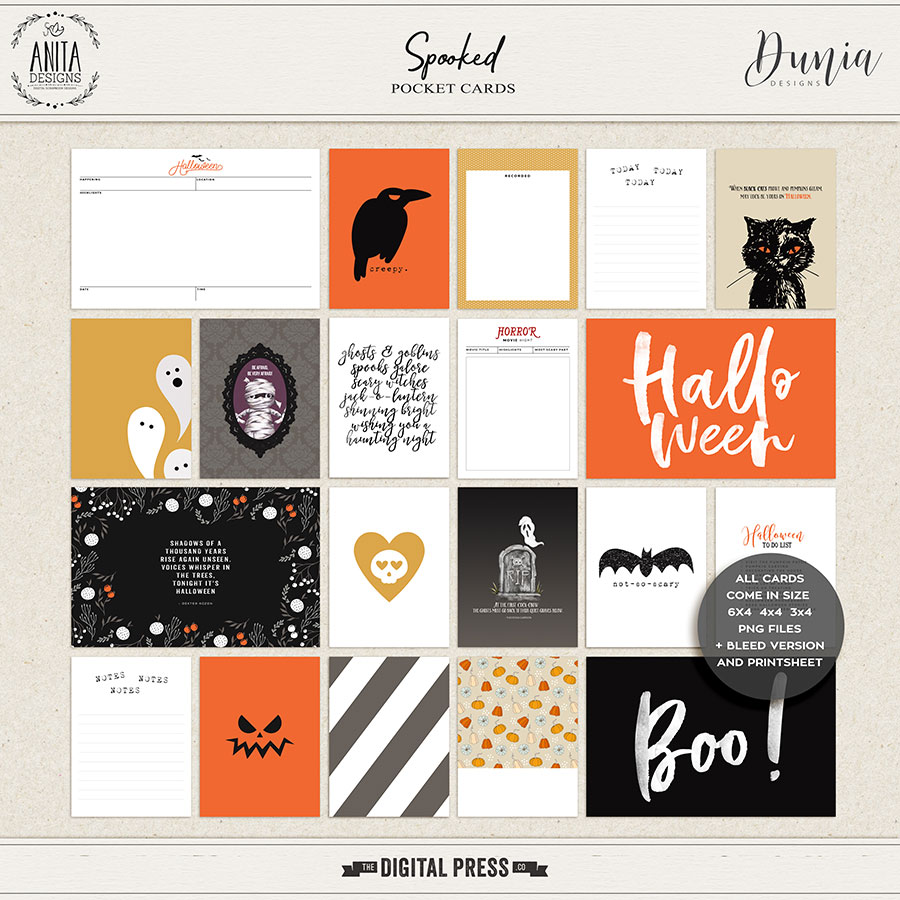 Spooked | Pocket Cards