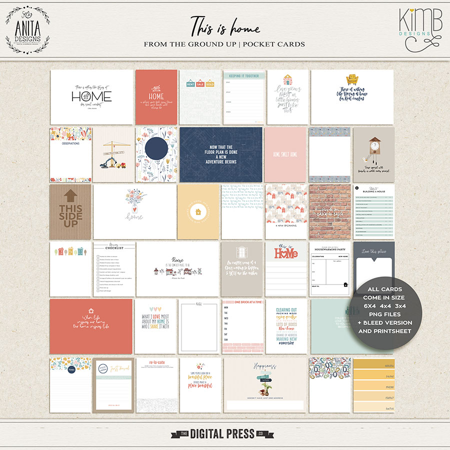 This is home | Pocket cards