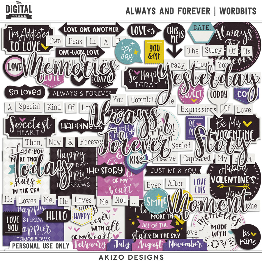 Always And Forever | Wordbits