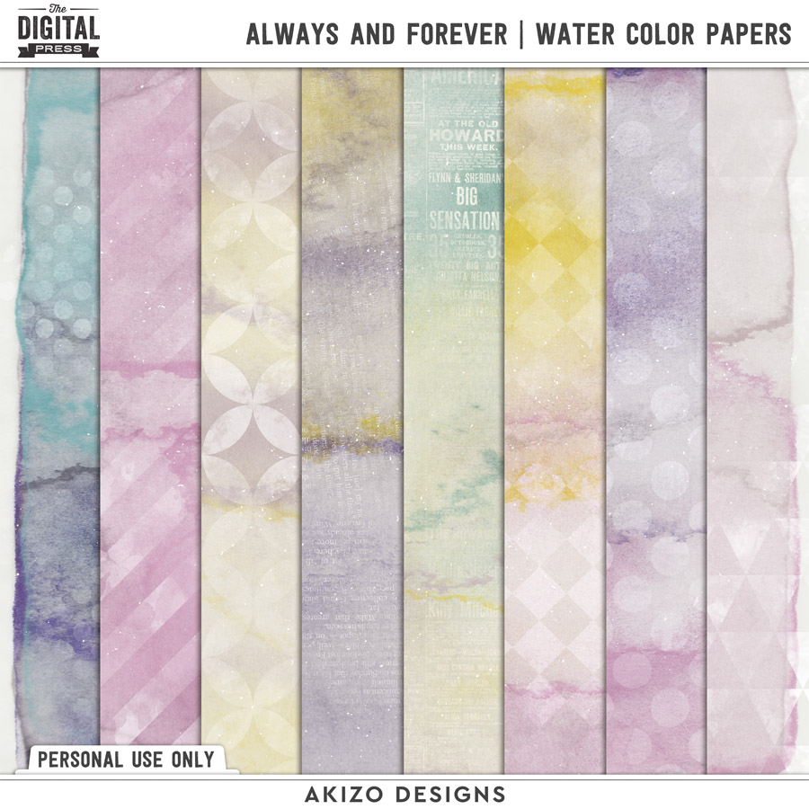 Always And Forever | Water Color Papers