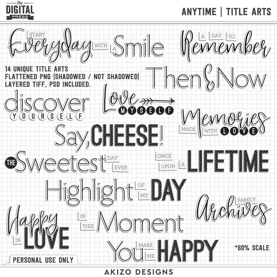 Anytime | Title Arts