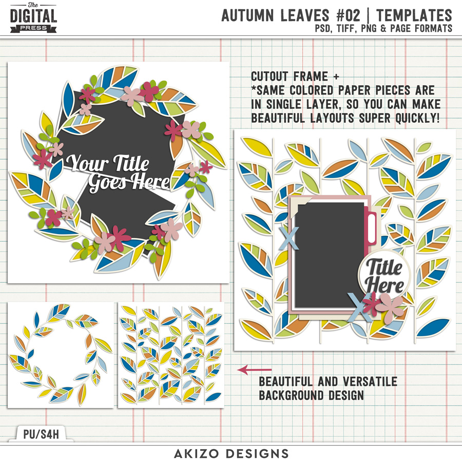 Autumn Leaves 02 | Templates
