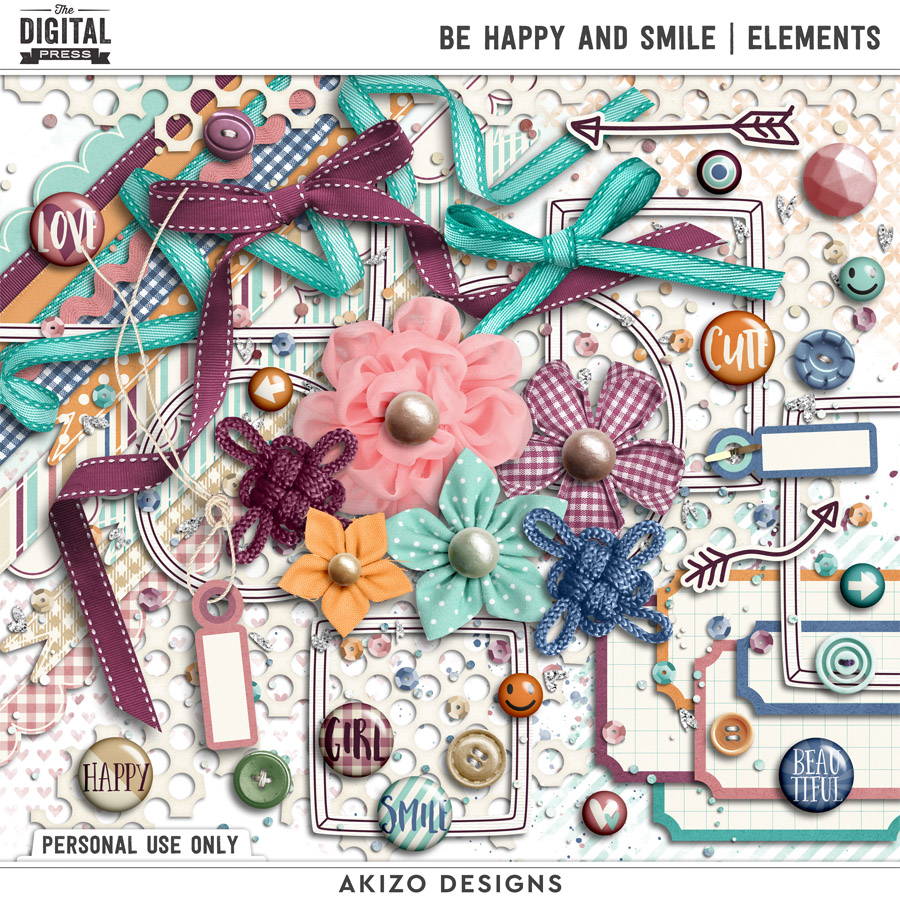 Be Happy And Smile | Elements