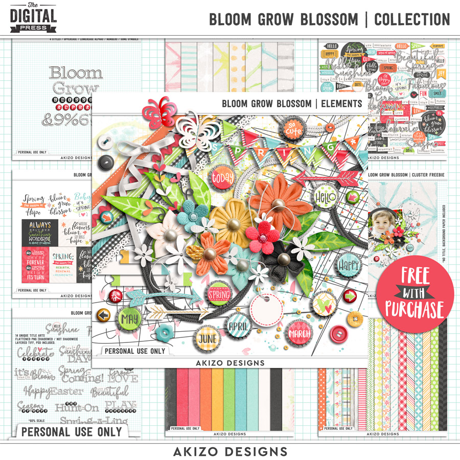 Bloom Grow Blossom | Collection