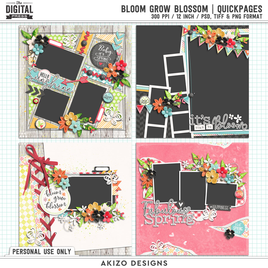 Bloom Grow Blossom   Quickpages