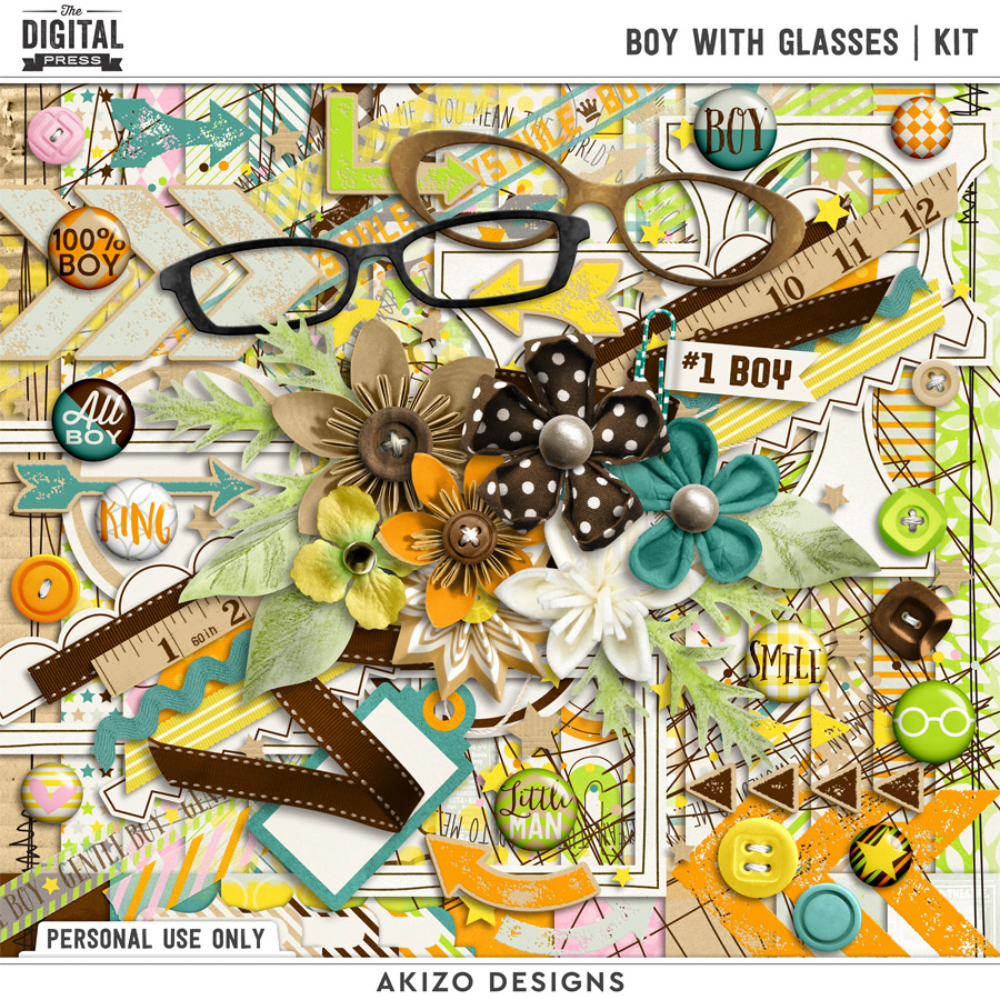 Boy With Glasses   Kit