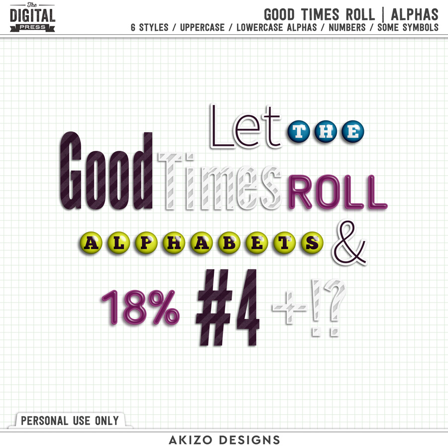 Good Times Roll | Alphas
