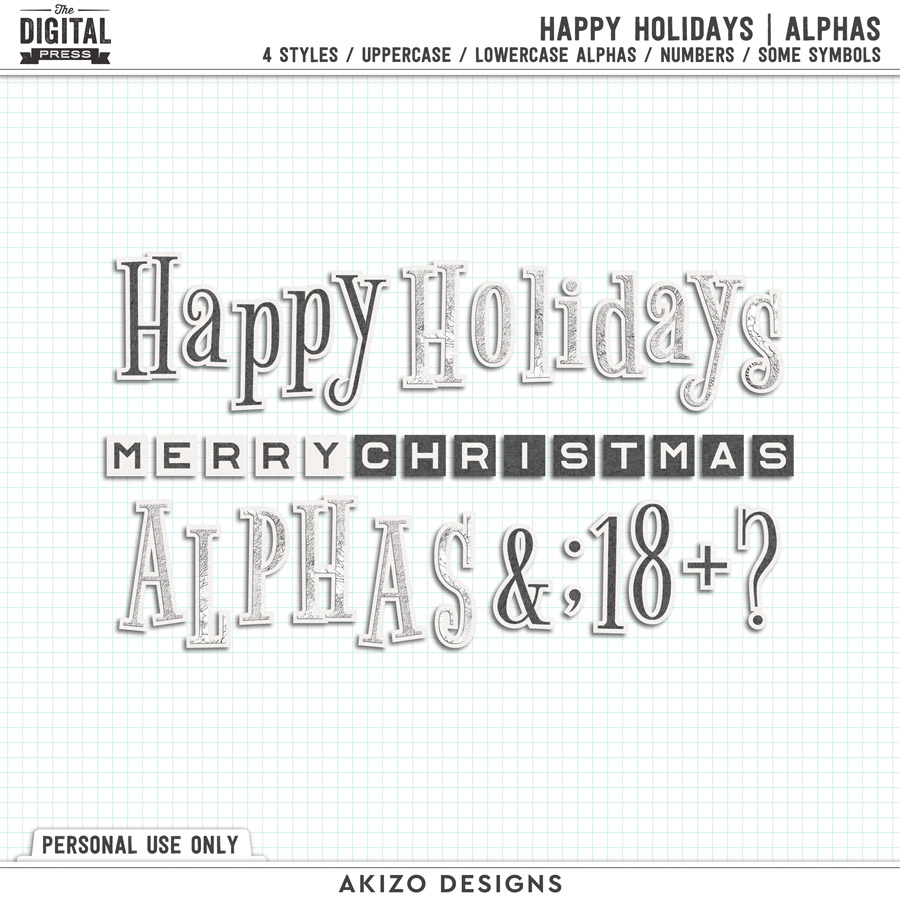 Happy Holidays | Alphas