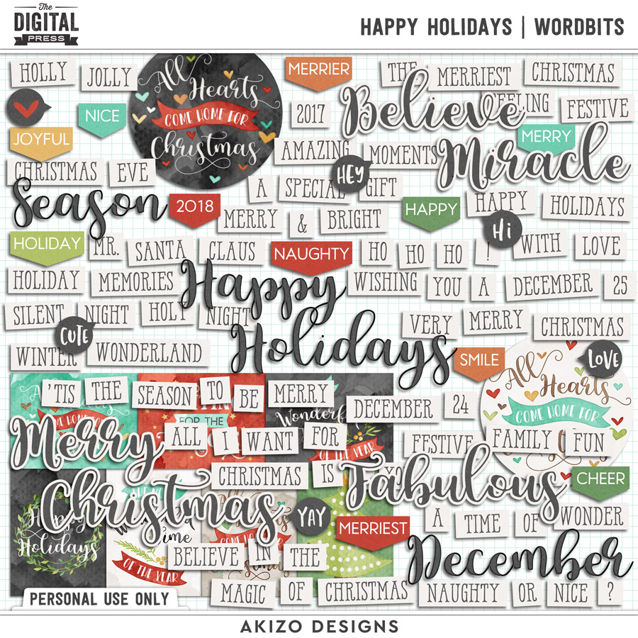 Happy Holidays | Wordbits