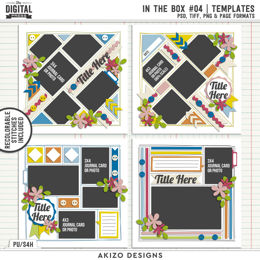 In The Box 04 | Templates