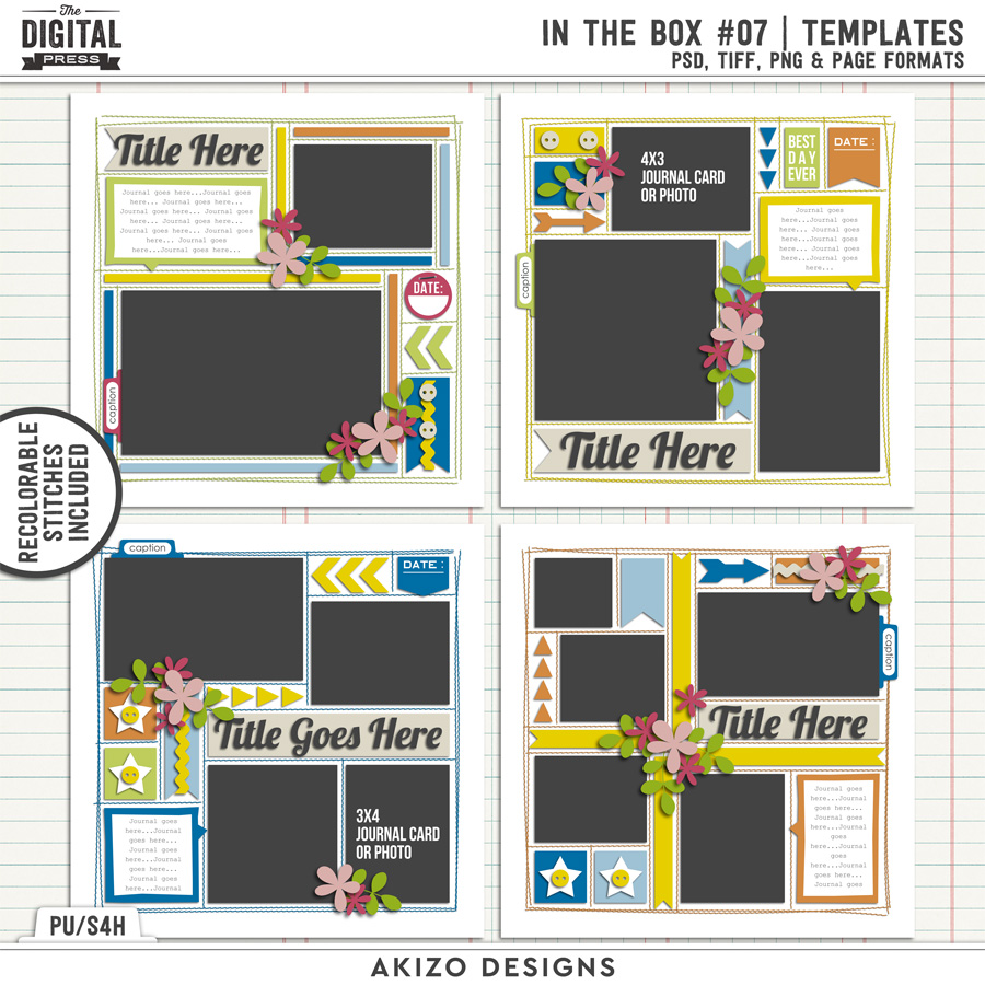 In The Box 07 | Templates