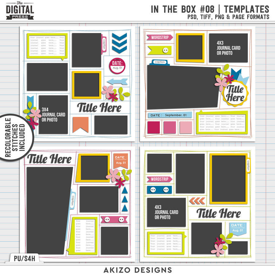 In The Box 08 | Templates