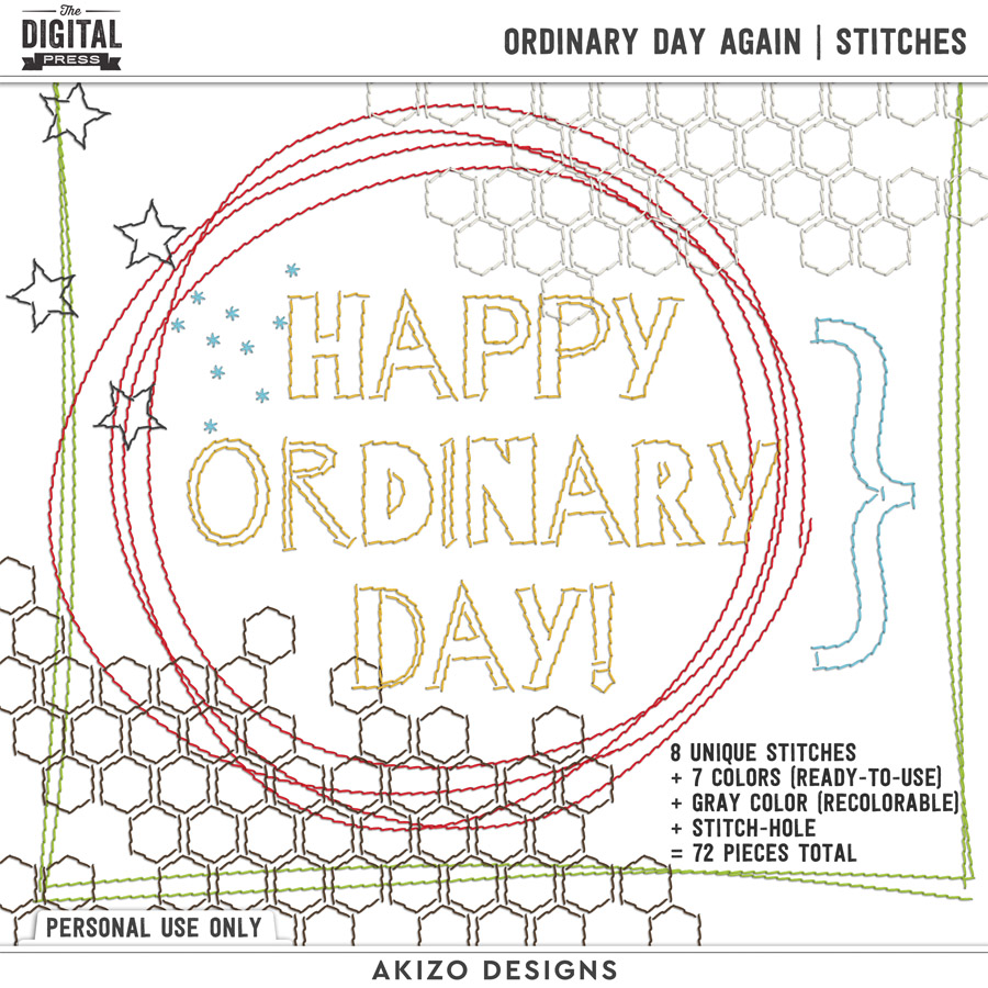 Ordinary Day Again | Stitches