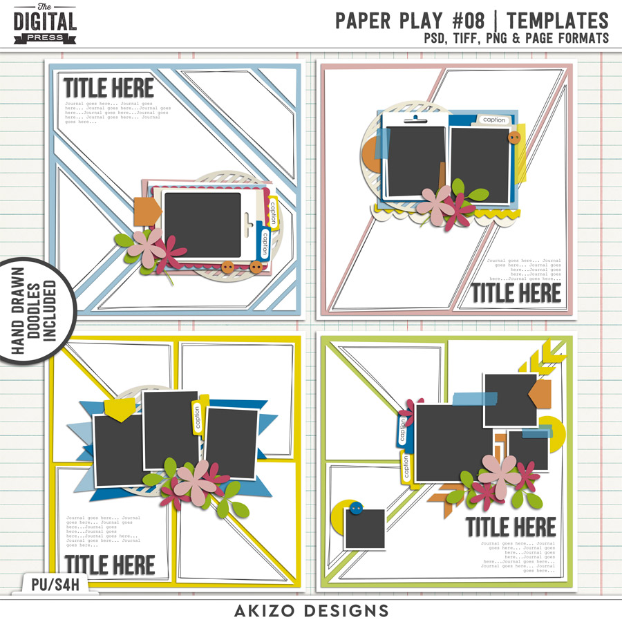 Paper Play 08 | Templates
