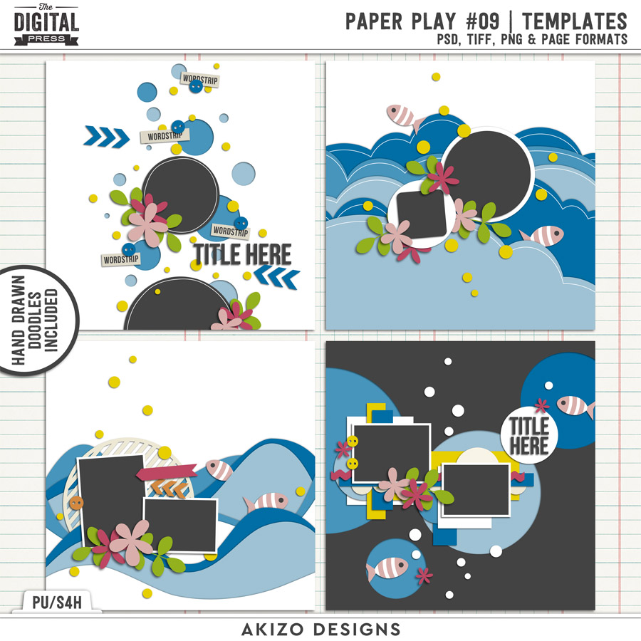 Paper Play 09 | Templates