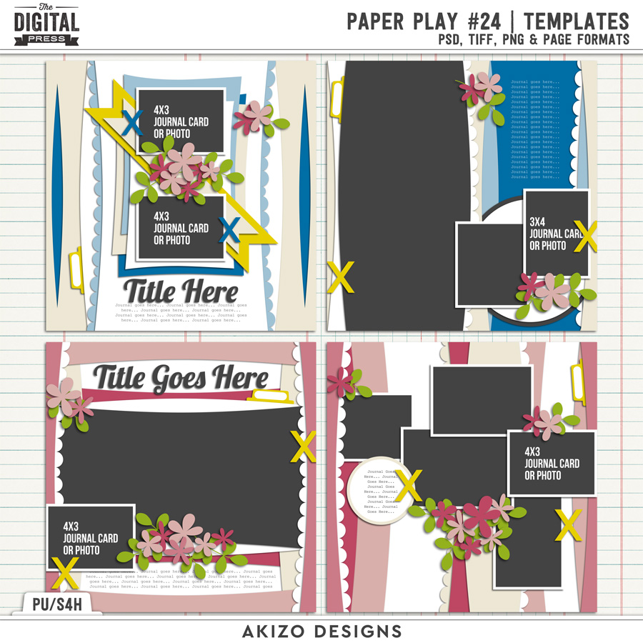 Paper Play 24 | Templates