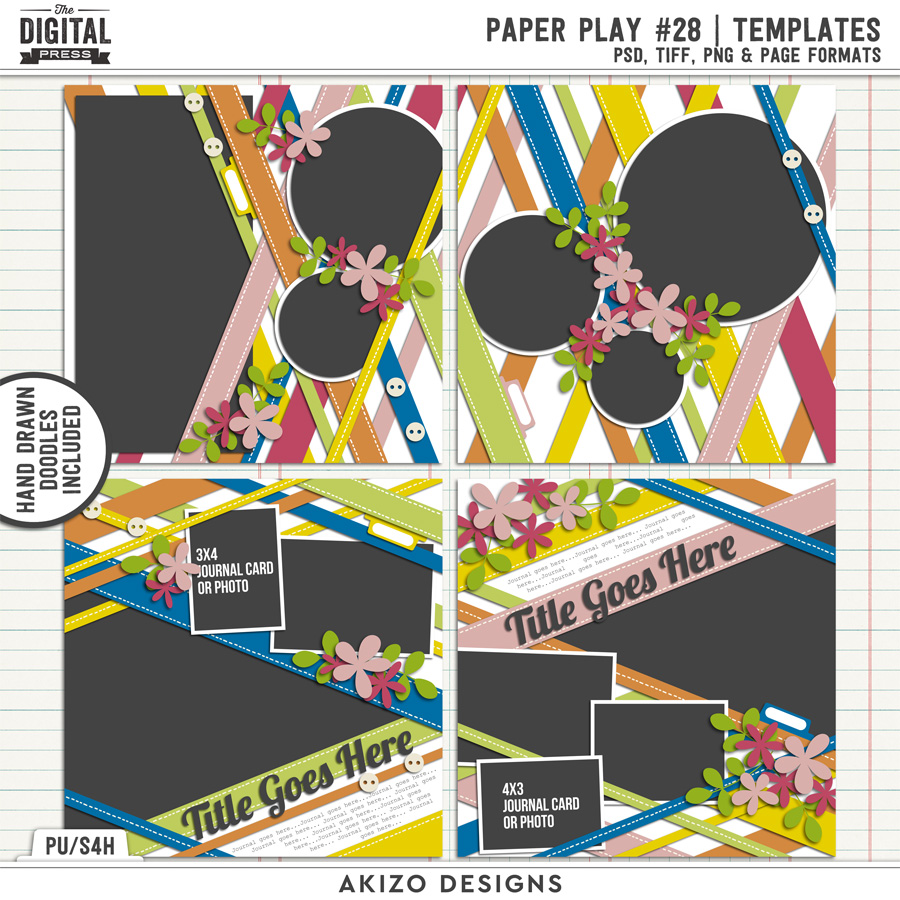 Paper Play 28 | Templates