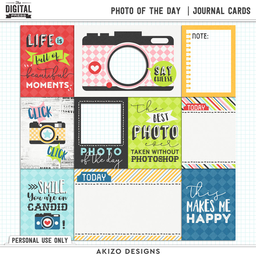 Photo Of The Day | Journal Cards