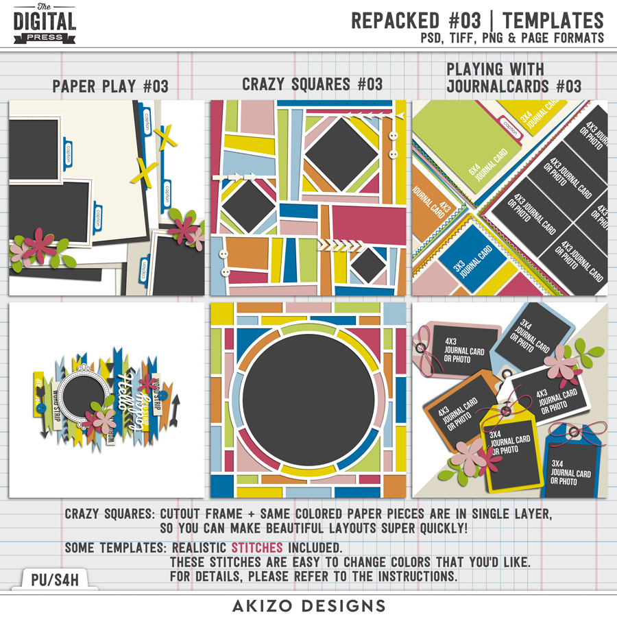 Repacked 03 | Templates
