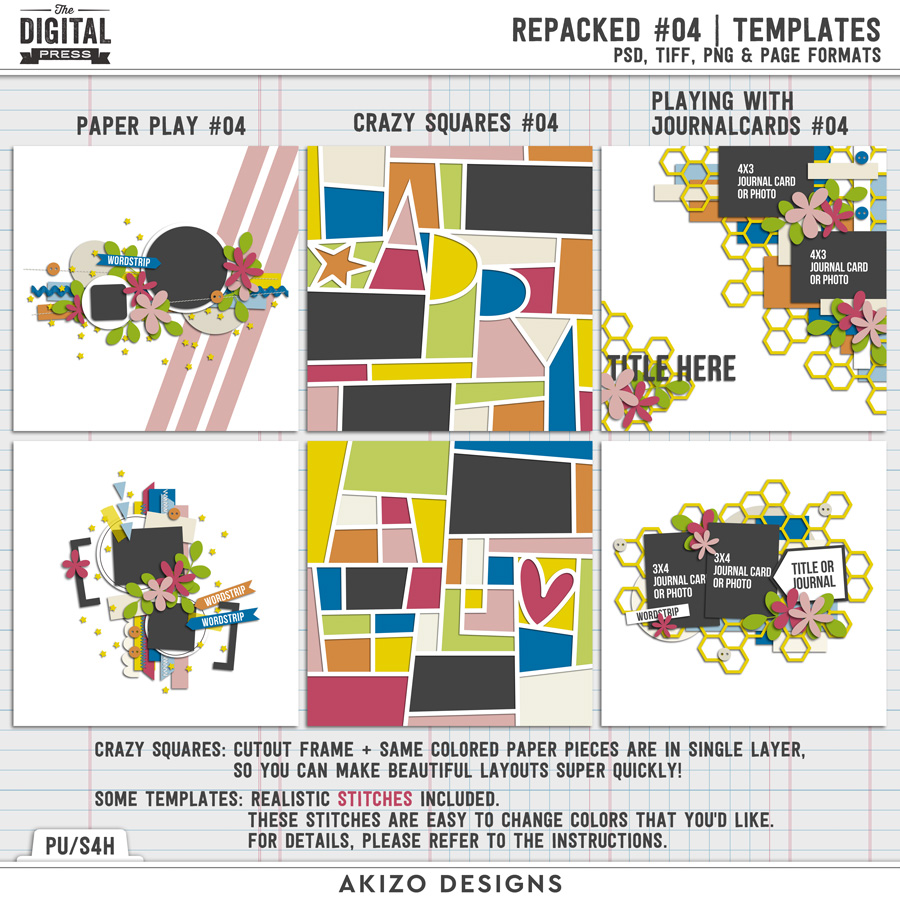 Repacked 04 | Templates
