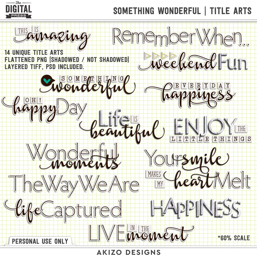 Something Wonderful | Title Arts
