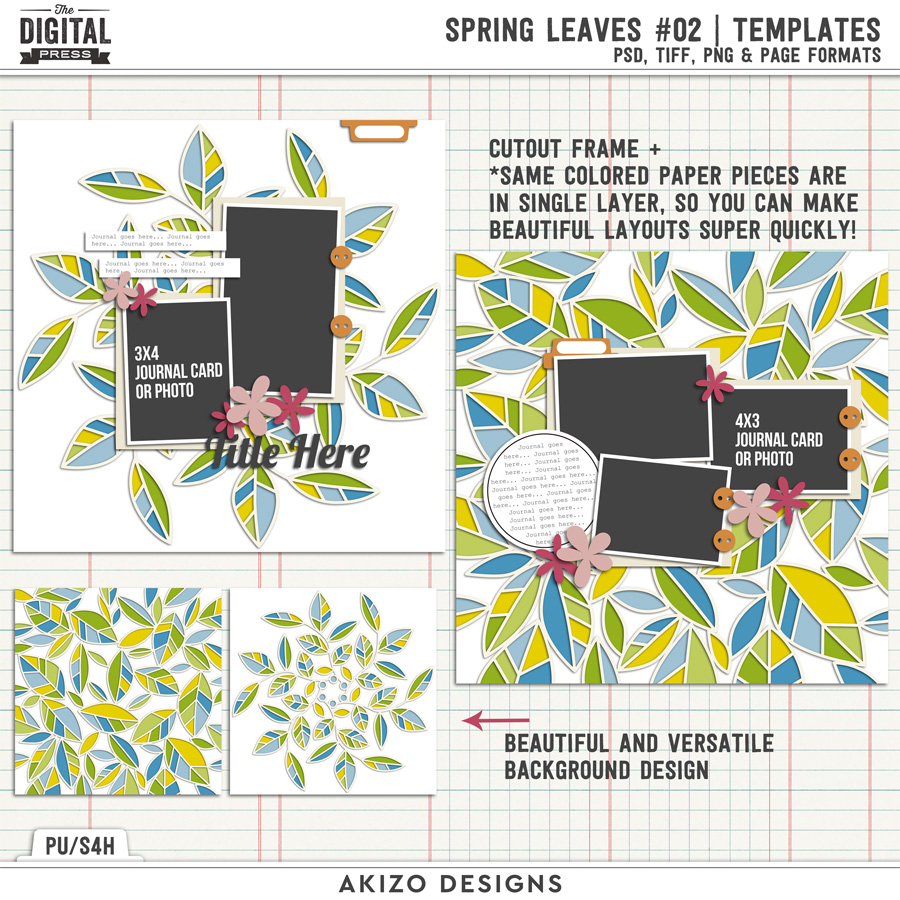 Spring Leaves 02 | Templates