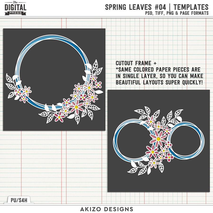 Spring Leaves 04 | Templates