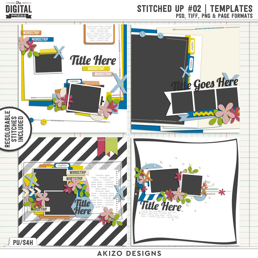 Stitched Up 02   Templates