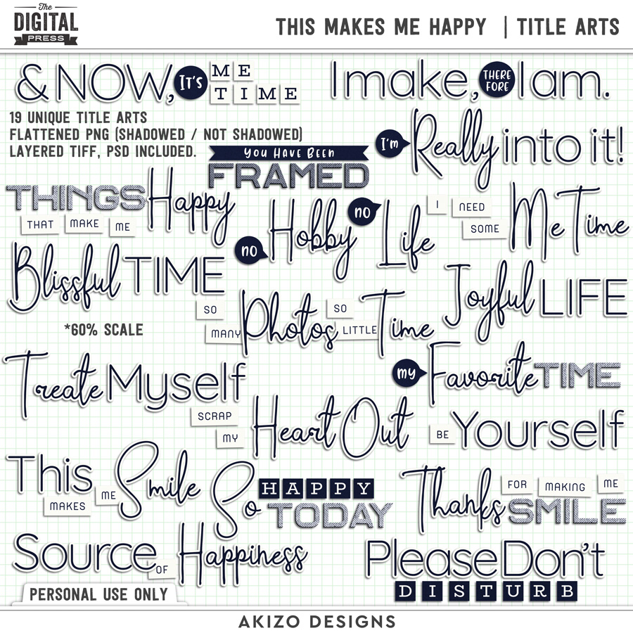 This Makes Me Happy | Title Arts