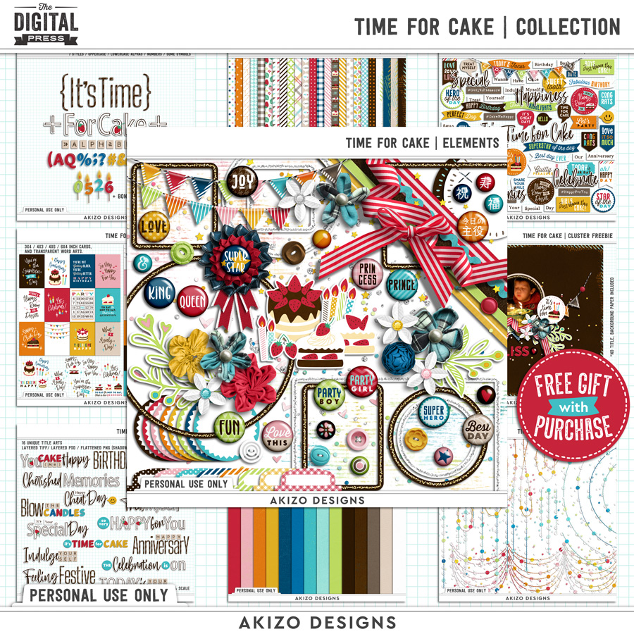Time For Cake | Collection