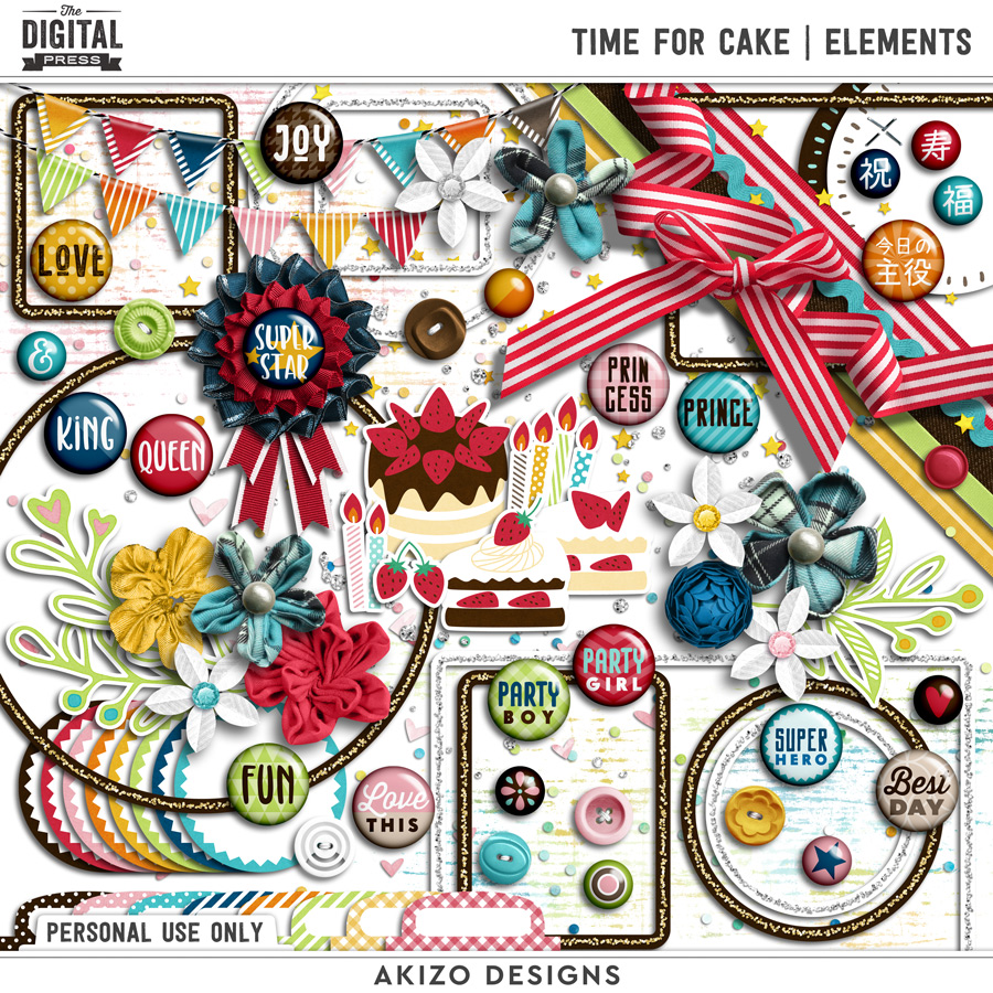 Time For Cake | Elements