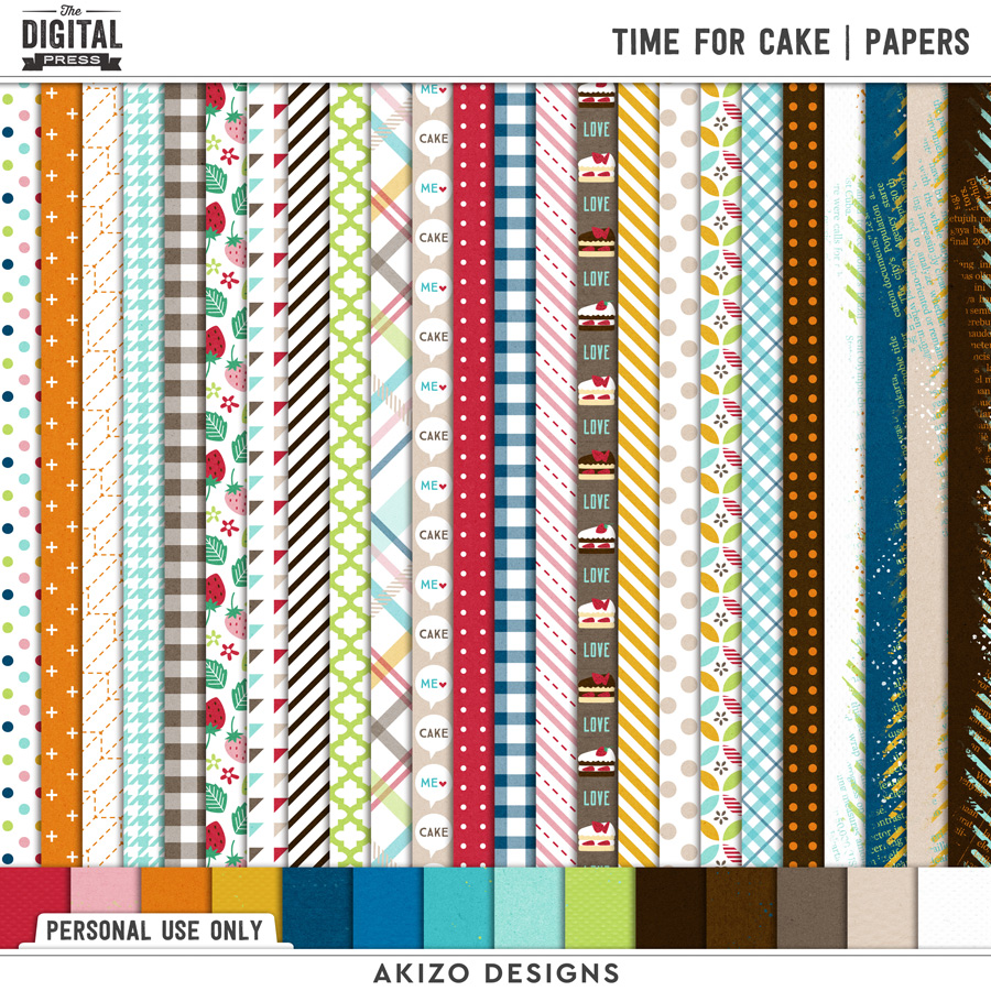 Time For Cake   Papers