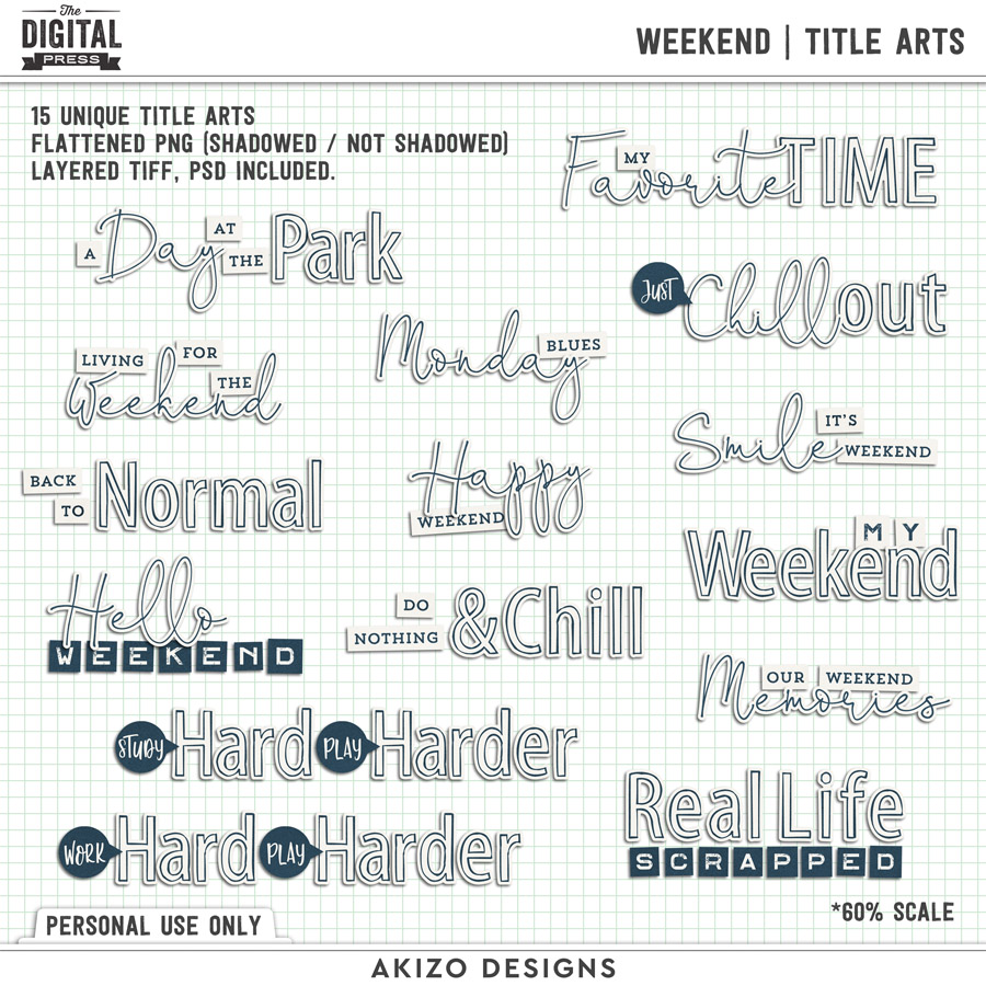 Weekend | Title Arts