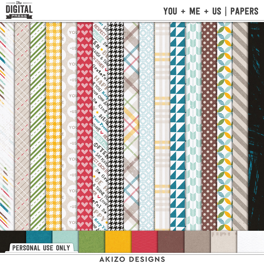 You + Me = Us   Papers
