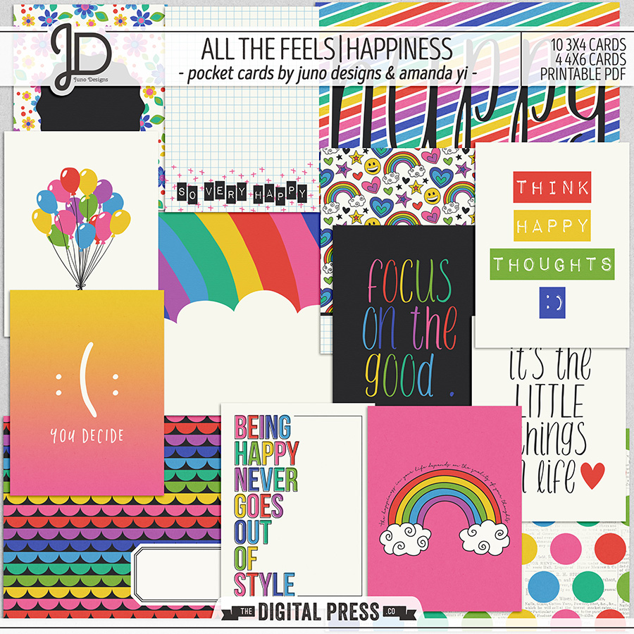 All The Feels | Happiness - Pocket Cards