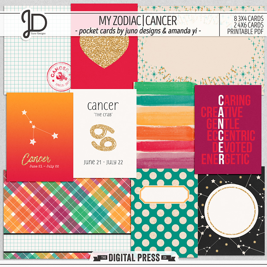 My Zodiac | Cancer - Pocket Cards
