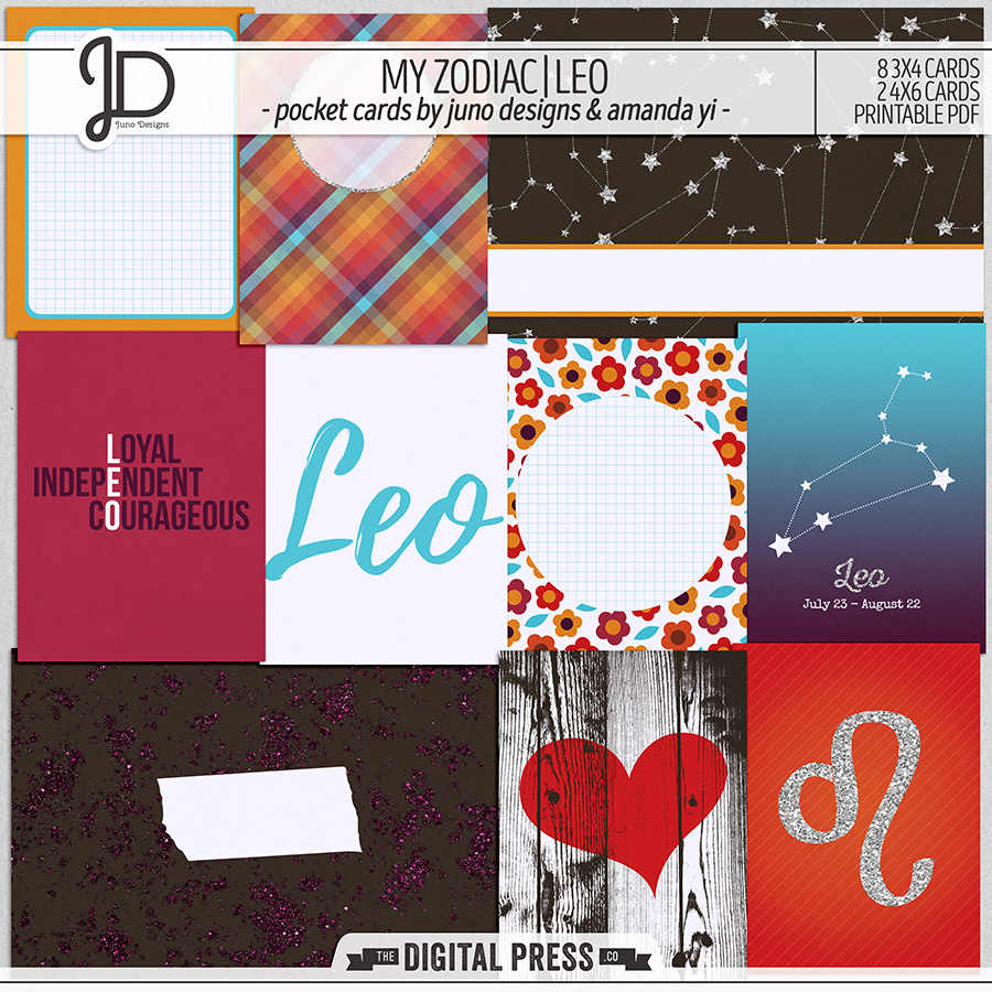 My Zodiac | Leo - Pocket Cards