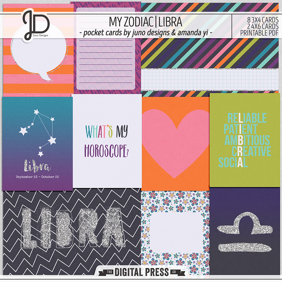My Zodiac | Libra - Pocket Cards