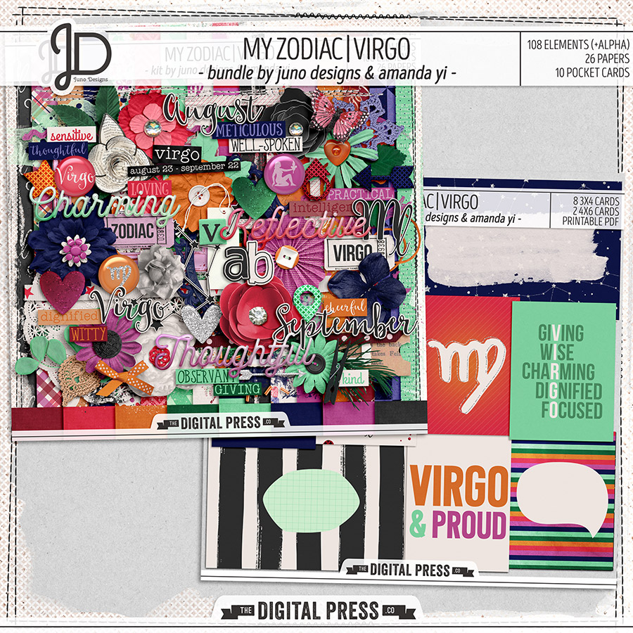 My Zodiac | Virgo - Bundle