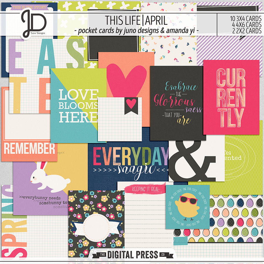 This Life | April - Pocket Cards