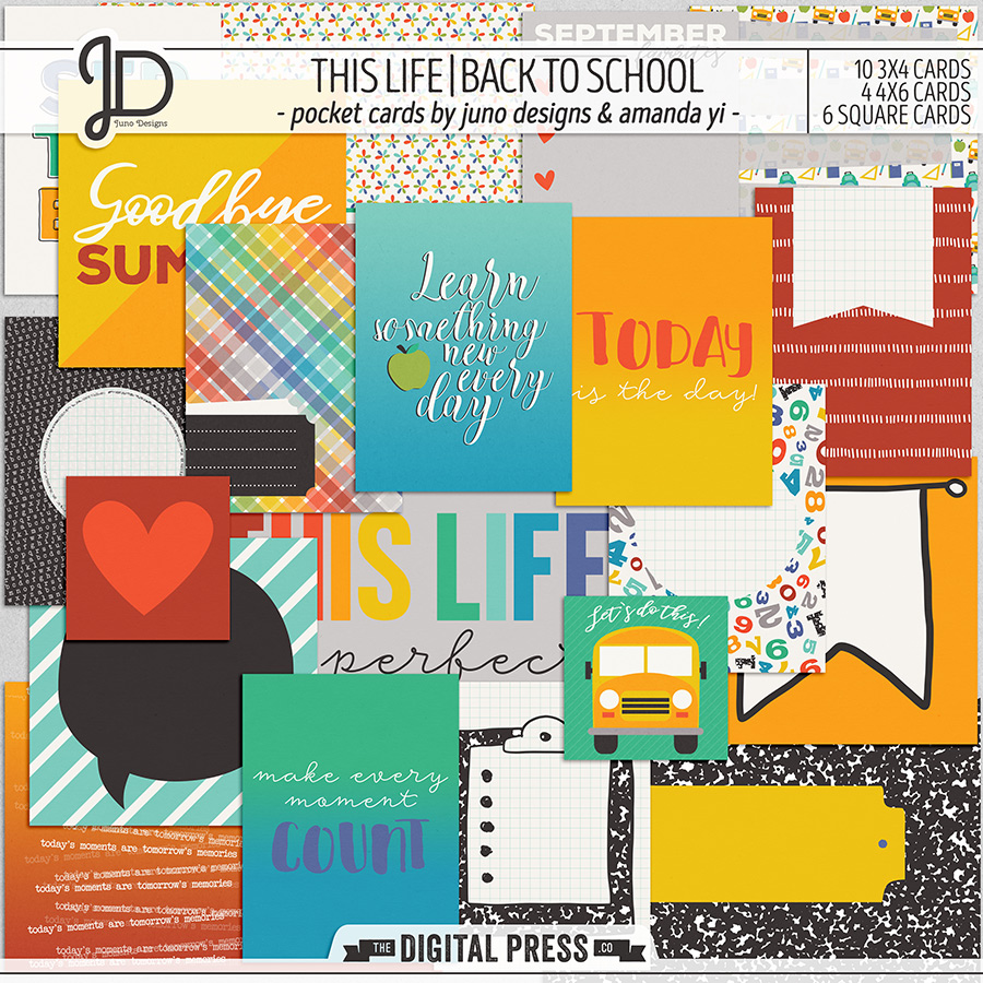 This Life | Back To School - Pocket Cards