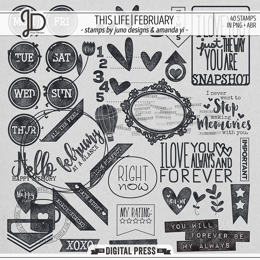 This Life   February - Stamps
