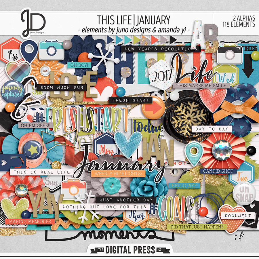 This Life   January - Elements