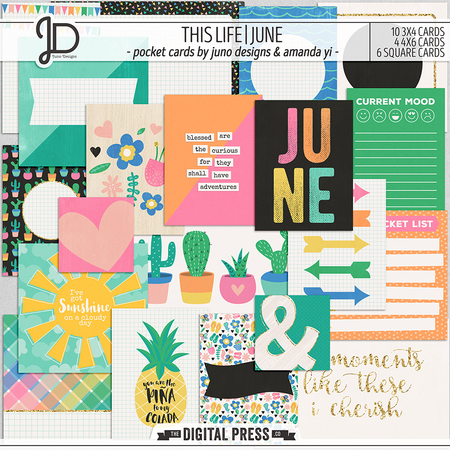 This Life | June - Pocket Cards