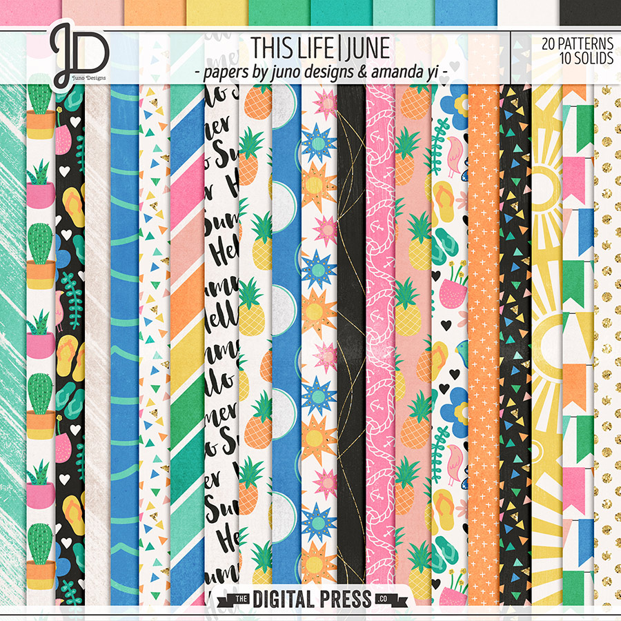 This Life   June - Papers