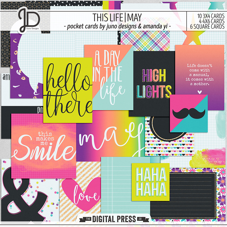 This Life | May - Pocket Cards