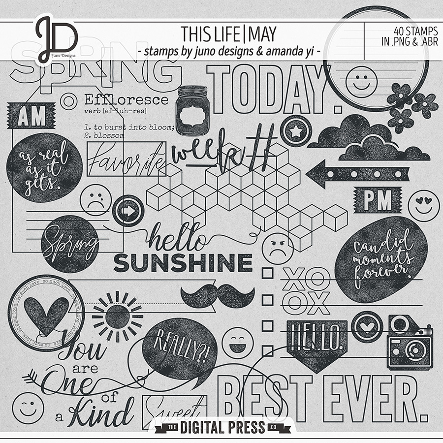 This Life | May - Stamps